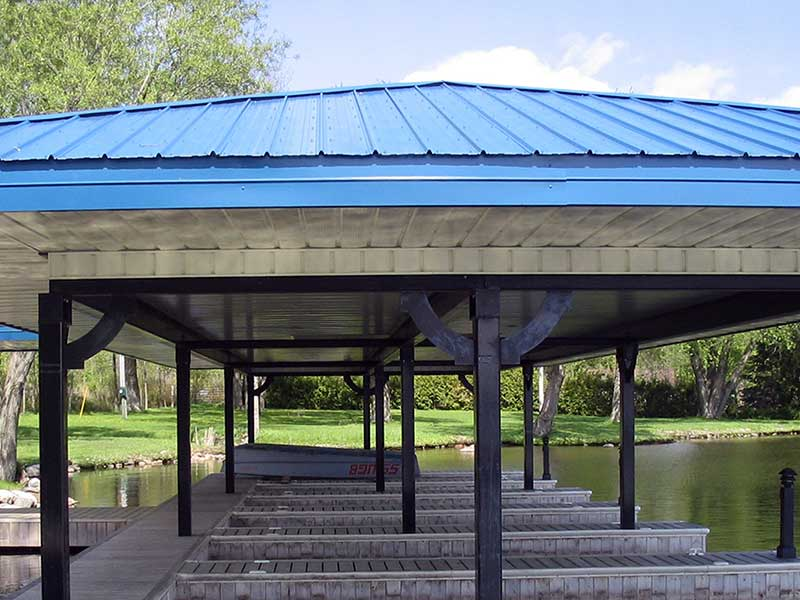 VicWest Boathouse Roof