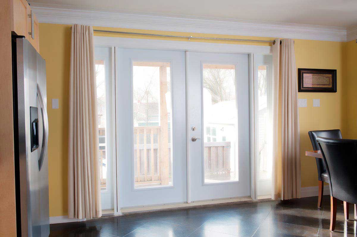 Kohltech Double-Doors with Sidelights